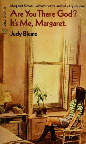 book review are you there god it s me margaret by judy blume yearling 1970 mom read it. Black Bedroom Furniture Sets. Home Design Ideas