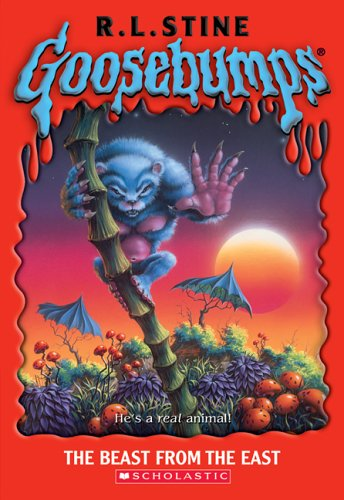 Book Review: Goosebumps: The Beast from the East, by R.L. Stine (Scholastic, 1996) : Mom Read It