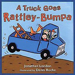 truck goes rattley bumpa