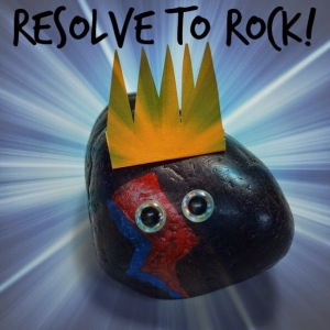 resolve to rock
