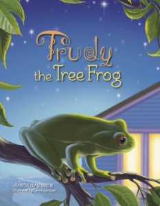 trudy the tree frog