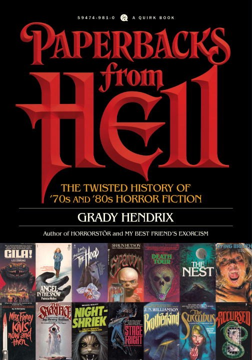 Paperbacks From Hell Is A Love Letter To 70s And 80s