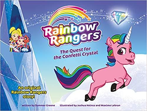 Nick Jr S Rainbow Rangers Come To Bookshelves Mom Read It